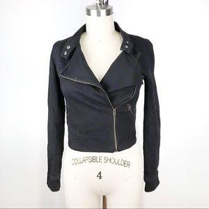 Aritzia Sunday Best Kerouac Moto jacket size 00